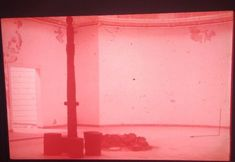 "Joseph Beuys ""Lecturing In New York/"" German Fluxus  Art 35mm Glass Slide"