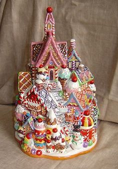 Wow! Christopher Radko Home For The Holidays Cookie Jar
