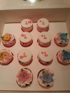 Cupcakes for a beautiful girl