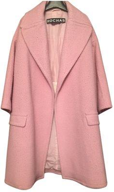 Rochas Rochas Pink Oversized Coat