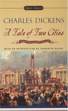 A tail of two cities.  One of the best books I have ever read!