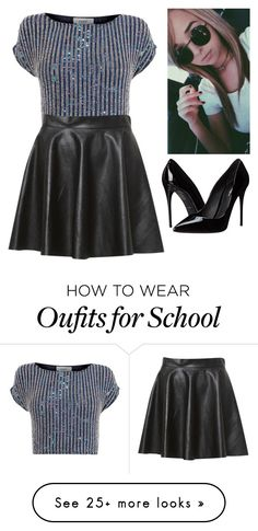 """""""school with jenn"""" by libbylouise-1 on Polyvore featuring Coast and Dolce&Gabbana"""