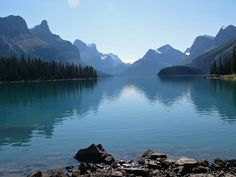 Maligne Lake, AB, Canada