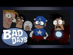 Nick Fury assembles Earth's Mightiest Heroes for a day of relaxation. Not all goes to plan for the Avengers on Bad Days.      Written and directed   Junaid Chundrigar  Davor Bujakovic    Animation, Cleanup and Color by  Davor Bujakovic  Junaid Chundrigar  Nicole Derksen  Thijs Koole  Tom Mourik    Backgrounds by  Junaid Chundrigar    Voices by  Paul Huig  Susie Oo...