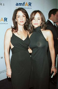 Annabella Sciorra Rosie Perez during AmFAR's Seasons of Hope event at Roseland Ballroom in New York New York United States Annabella Sciorra, Taxi Driver, Prom Dresses, Formal Dresses, Celebs, Celebrities, Celebrity Style, Curvy, Beautiful Women