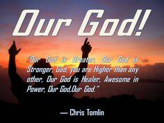 Our God!!!