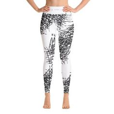 Super soft, stretchy and comfortable yoga leggings. Fit Board Workouts, Work Shirts, Spandex Material, How To Do Yoga, Yoga Leggings, Trending Outfits, Cushions, Pillows, Hoodies