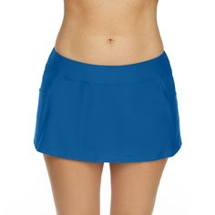 Splashletics Swim Skirt Swim Skirt, Swim Dress, Spandex Fabric, Gym Shorts Womens, Swimming, Skirts, Swimwear, Mesh, Blue