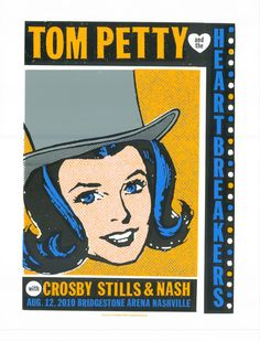 GigPosters.com - Tom Petty And The Heartbreakers - Crosby Stills And Nash
