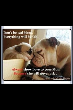 I love you mom and for all the good moms out there that don't get the love and respect they deserve.