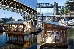 schoole of fish foundation, plastic floating dining room, plastic in oceans, sustainable seafood, vancouver, c restaurant