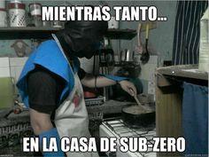 Sub Zero, Scorpion, Humor In Spanish, Funny, Scorpio