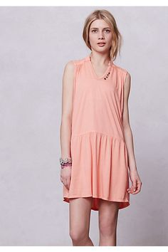 Joey Drop-waist Day Dress, $58.00 at Anthropologie