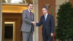Urkullu se reunió el martes con Rajoy para hablar del fin de ETA