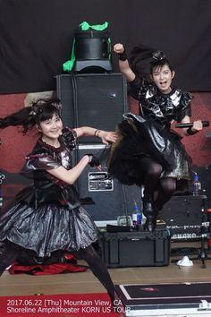 Babymetal - Yuimetal and Su-metal Sakura Gakuin, Heavy Metal Bands, Metal Girl, Best Friend Pictures, Beautiful Asian Women, Great Bands, Just The Way, Dancer, Actresses