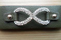 stone infinityleather infinity braceletbracelet set by aydam, $25.00
