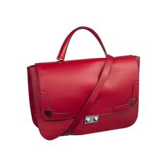 cartier-bags- Marcello De Cartier Satchel Bag. Ref : L 1001531.  Shown in Red Calfskin and Red suede sheepskin.  Also available in : Bronze, Black and Tobacco.  $2,100