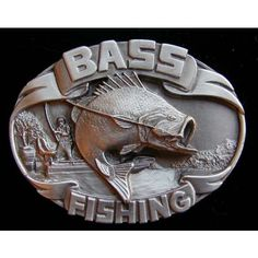 Bass Fishing Belt Buckle | BeltBuckle.com
