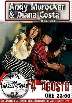 Ritornano gli anni 50! serata rockabilly con Diana Costa e Nando Murocker! ore 22...SunsetPubCafè