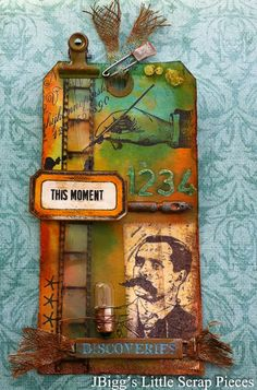 JBigg's Little Scrap Pieces: August - Tim's 12 Tags of 2014
