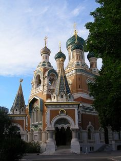 Nice, France - Russian Orthodox Church