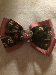 Duck Dynasty Hair Bow by HelgasHairBowDesigns on Etsy