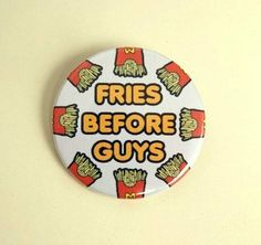 If I had a jean jacket with lots of pins, I would pin this on it.