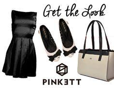 Lta para lucir #súper #fashion .Aquí te dejamos un #look ideal para este #sabado o #domingo! #Getthelook con un VestidoNegro de Pinkett Trendy Village , #Lolys Noela y una #bolsa #Opa para complementar tu #outfit .Todos ellos a la venta en nuestra Concept Store! www.pínkett.com.mx