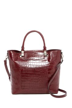 Addie Croc Embossed Tote by Danielle Nicole on @HauteLook