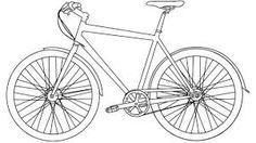 This easy tutorial will help you learn to draw a cartoon bicycle! So let's see how you could draw a simple bicycle in seven easy steps! Finally, add the basic shapes for the saddle, the handlebars and the pedal. Bicycle Drawing, Drawing Tutorials For Kids, Drawing Ideas, Online Drawing, Basic Shapes, A Cartoon, Learn To Draw, Drawing People, Cool Drawings
