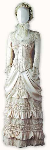 "Costume for Natassja Kinski in ""Tess"", Cosprop, UK.- Just guessing, I don't know the date this was set in."