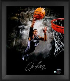 LaMarcus Aldridge San Antonio Spurs Framed Autographed 20
