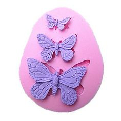 qinxi Butterfly Cake Mold Handmade Silicone Baking Tools Decorations For Cakes Fondant Chocolates Mold >>> Check this awesome image  : Candy Making Supplies