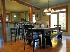 589180 Grey Road 19. The Blue Mountains, ON. Dining room. #chestnutpark #realestate