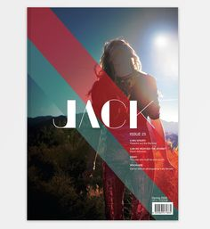 Jack - Fashion, Art & Culture Magazine Institute | Designer: Noémie Pottiez | Image 1 of 3