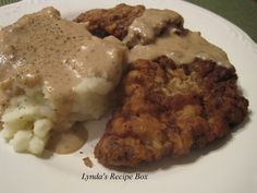 I'm still on my comfort food kick, so Chicken Fried Steak was on my menu last week. This meal was one of my favorite dishes that my Mother made when I was a kid, and I still love it. I don't make i…