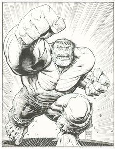 #Hulk #Fan #Art. (Hulk) By: Arthur Adams. (THE * 5 * STÅR * ÅWARD * OF: * AW YEAH, IT'S MAJOR ÅWESOMENESS!!!™)[THANK Ü 4 PINNING!!!<·><]<©>ÅÅÅ+(OB4E)