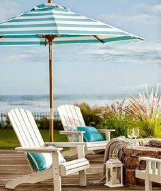House of Turquoise: Welcome Summer! House of Turquoise: Welcome Summer! Coastal Cottage, Coastal Homes, Coastal Style, Coastal Living, Coastal Decor, House Of Turquoise, Cottages By The Sea, Beach Cottages, Tiny Cottages