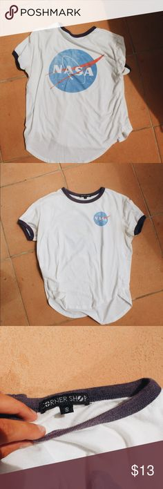 NASA Short Sleeves Shirt NASA Short Sleeve Shirt, Super Soft, Worn Twice BRAND: CornerShop Tops Tees - Short Sleeve