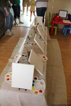 Great kids party idea