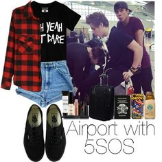Airport with 5SOS
