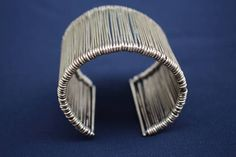 Your place to buy and sell all things handmade Nickel Silver, Silver Cuff, Polished Nickel, Sterling Silver, Unique Bracelets, Handmade Bracelets, Gifts For Women, Perfume, Summer