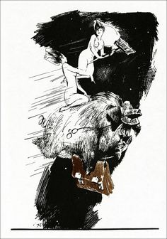 Иллюстрации к «Мастеру и Маргарите»: Графика Геннадия Новожилова