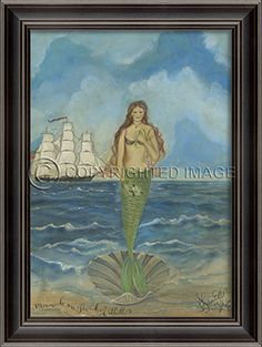 LH Mermaid on the Half Shell by Kolene Spicher - Spicher and Company