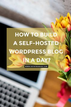 Lately, I've been getting a lot of questions about starting a WordPress blog. It seems like a lot of peoplethink like it's a long, complicated process, but in reality, it all can be accomplished in less than a day! Let me tell you that you'd want to go self-hosted for this. It's worth mentioning that self-hosted WordPress.org and WordPress.com are completely different platforms. WordPress.com is a free blog hosting service, yet it doesn't allow custom designer themes upload and has limited…