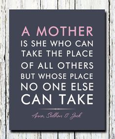 Beautiful Sweet Mother's Day Quotes | Easy DIY Gift Ideas for Mother's Day by DIY Ready at diyready.com/...