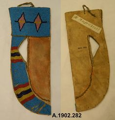 Blackfoot knofe sheath, Nat. Mus. Scotland