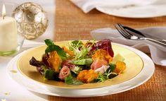 Blattsalat mit Avocado und Süßkartoffel-Chips | Knorr