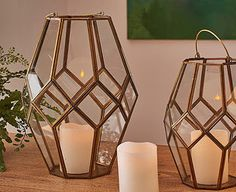 Original Gift Company Nkuku Large Mohani Lantern Use this beautifully hand-crafted lantern indoors or out to enjoy the magical glow of candlelight. It looks magnificent at the centre of the dining table for a special meal, or placed on a wall, shelf http://www.MightGet.com/february-2017-2/original-gift-company-nkuku-large-mohani-lantern.asp