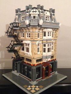 lego custom modular buildings - Google Search